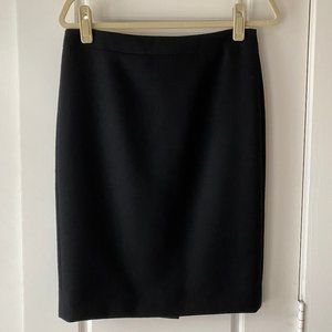 NWT J.Crew No 2 Pencil Skirt Double Serge Wool 4